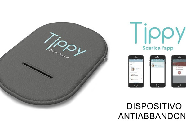 TIPPY Dispositivo bluetooth anti abbandono