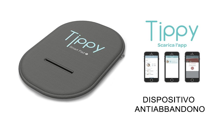 TIPPY Dispositivo bluetooth anti abbandono