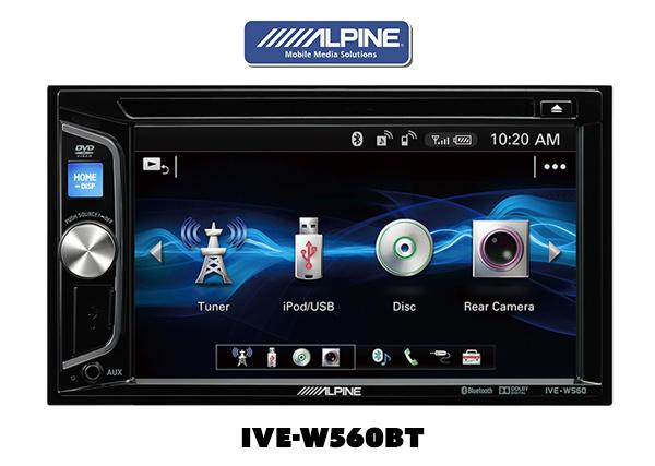 Alpine –  IVE-W560BT