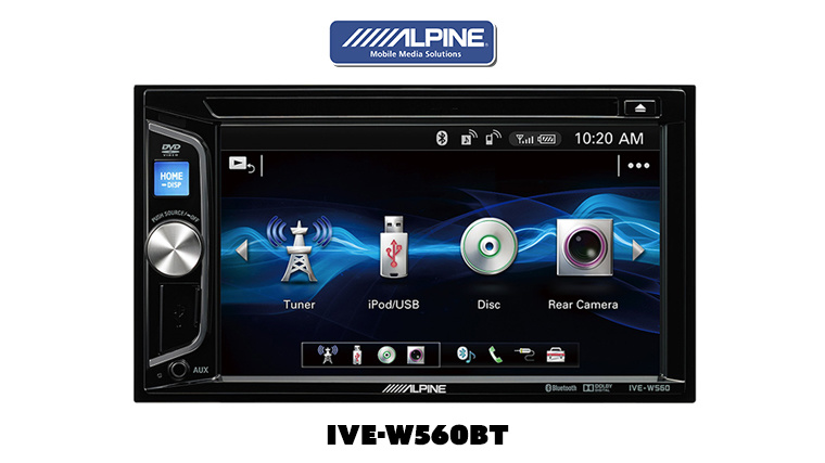 Alpine –  IVE-W560BT