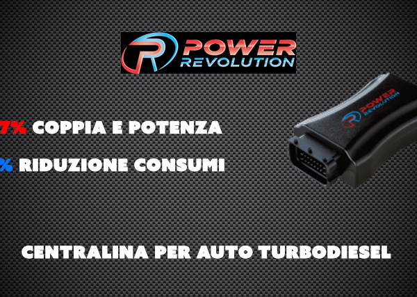 Power Revolution – Centralina per auto turbodiesel
