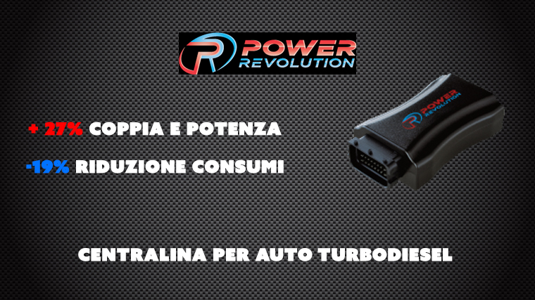 Power Revolution – Centralina per auto turbodiesel